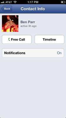 Facebook adds Free Internet Calls to iOS app | VPN Tutorials