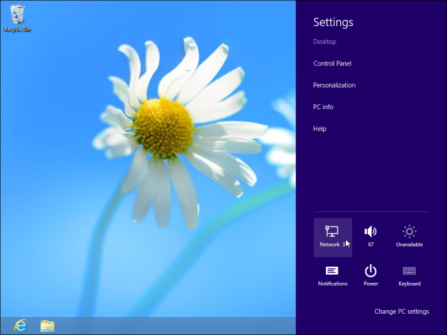Windows 8 Network Pane