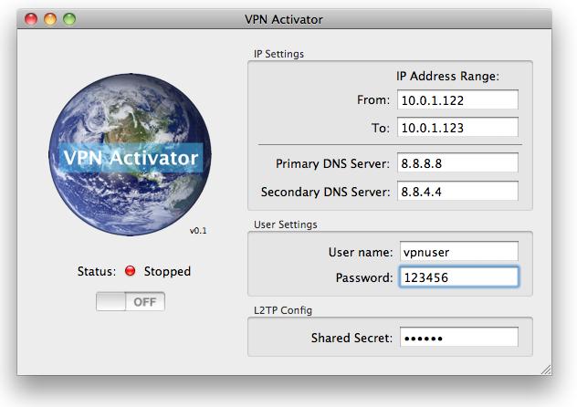 Run VPN Activator