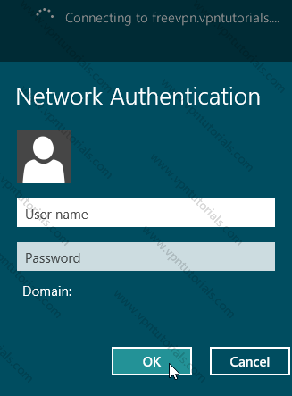 VPN Authenticate PPTP